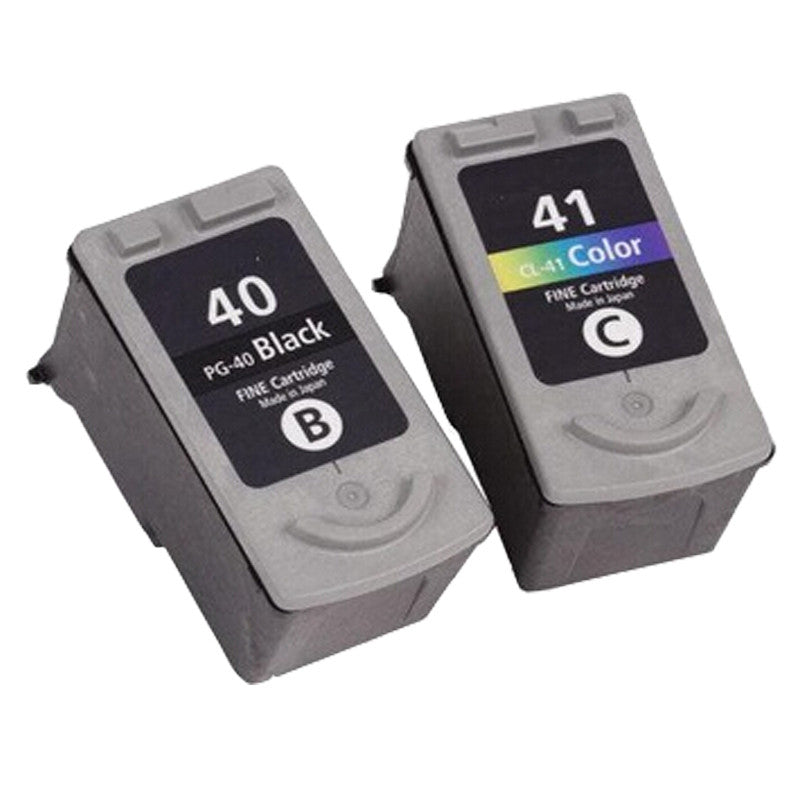 2 Ink Cartridge For Canon PG 40 41 PG-40 CL-41 Pixma iP2500 iP2600 iP1800 iP1900 MP190 Printer