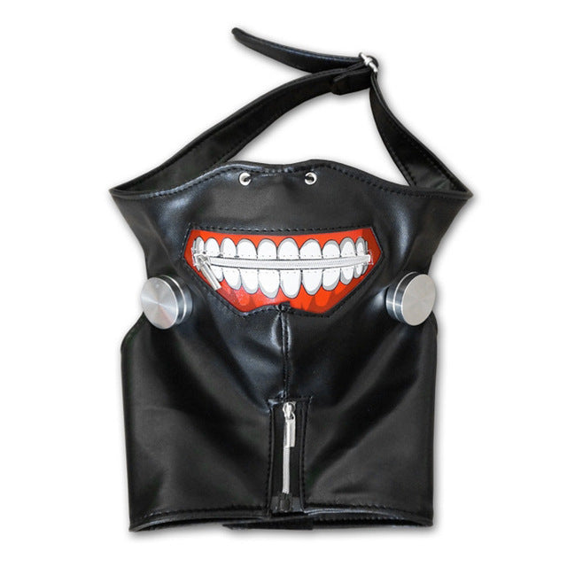 Tokyo Ghoul  Mask Anime Cosplay Kaneki Ken Mask with Wigs Hair Halloween Party