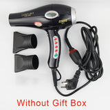 High Quality  With LCD display deluxe design professional hair dryer with AC motor blow dryer 2200W Low noise hair dryer