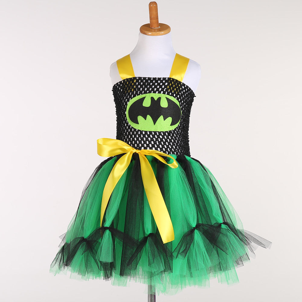 Kids Halloween Costumes Children Party Dresses Lovely Baby Tutu Dress