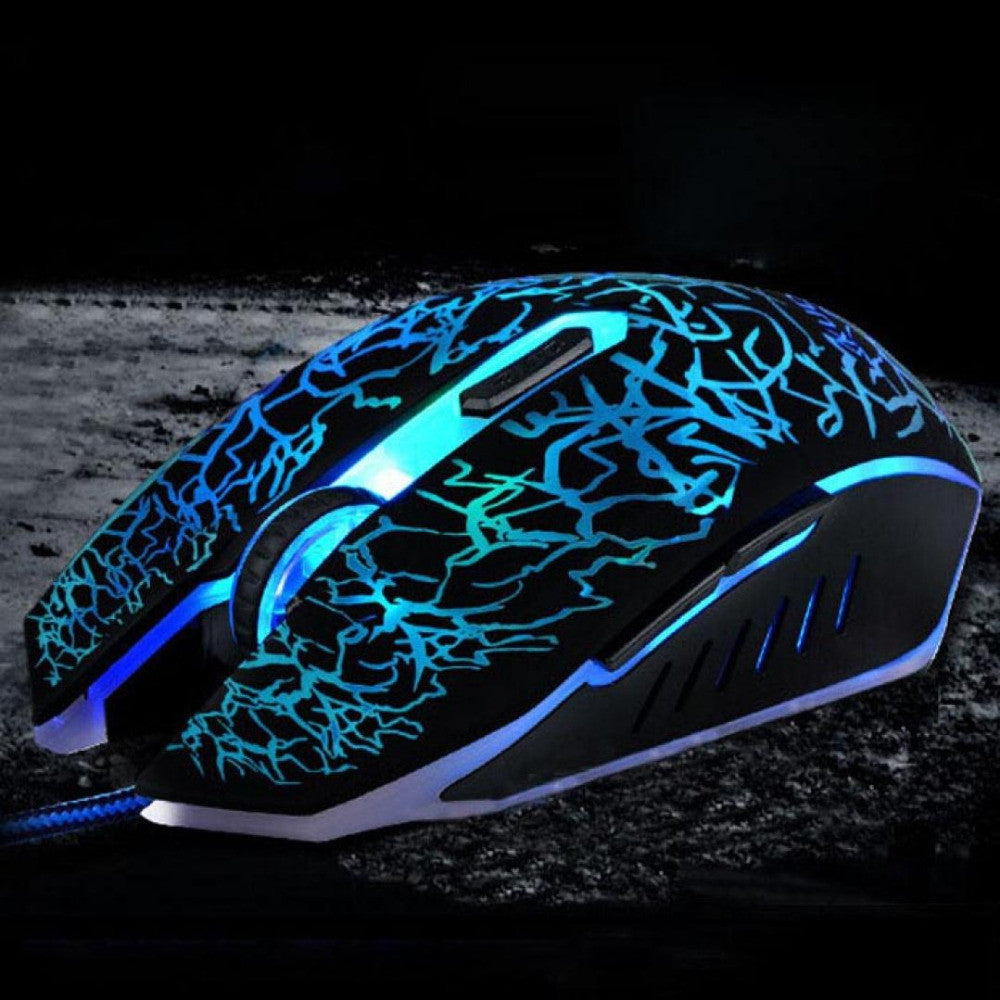 Tech Newest 4000 DPI adjustable 6D Wired Mouse USB Gaming Mouse Mice Computer Mouse for Laptop Notebook Optical gaming Mause