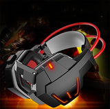 EACH G1000 Deep Bass Game Headphone Stereo Surrounded Over-Ear Gaming Headset Headband Earphone With Light For Computer PC Gamer