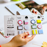 Very Cute Mini N Times Sticker Schedule Marker Instructions Attached Hand Shaped Account Decoration School Supplies Stationery