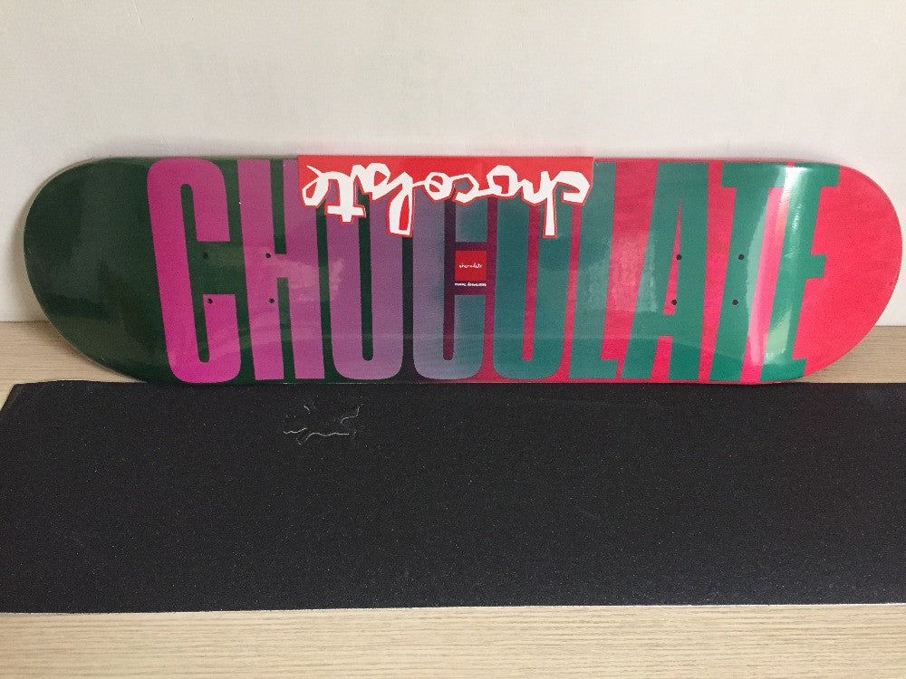 "New Chocolate Gradient CHOCOLATE Logo Skate Board 8.125"" Skateboard Canadian Maple Wooden Decks for Complete Skateboards"