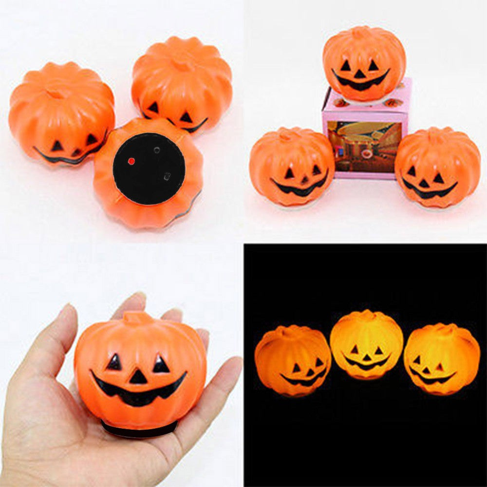 1 pcs Halloween Carnival Party Jack-O-Lantern LED Pumpkin Night Light  Decoration Props - Blobimports.com