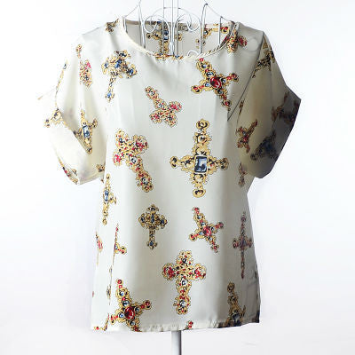 19 Kinds Style T Shirt Women 2016 Summer Unique Print Tops Short Sleeve Fashion T-shirts Women Plus Size Tshirt Tee Shirt Femme