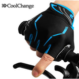 Coolchange 2016 Summer Half Finger Cycling Gloves Nylon Mountain Bike Gloves Breathable Sport Bicycle Gloves Guantes Ciclismo