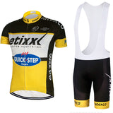 2016 team pro cycling jersey etixx bicycling shirts gel bike shorts 100% Polyester quick step Ciclismo cycle clothing suit