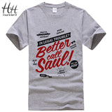 HanHent Hermanos T-Shirt Man Breaking Bad T Shirt Men Walter White Cook Tops Heisenberg Men Tops Tees 2016 Summer Fashion New