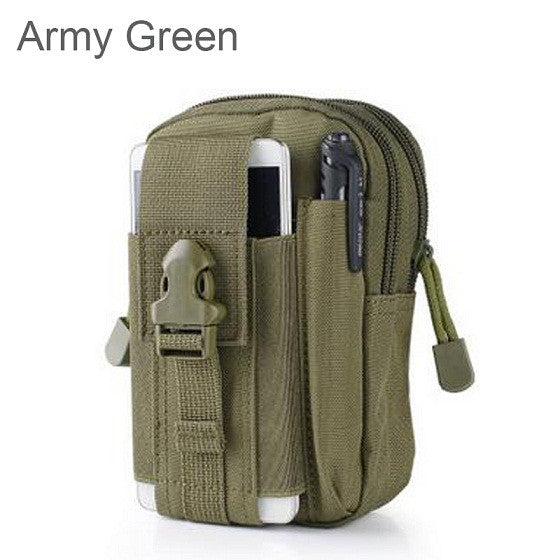Tactical Molle Pouch Belt Waist Pack Bag Pocket Military Waist Fanny Pack Phone cases Pocket for Samsung Galaxy S5 Meizu Pro 6