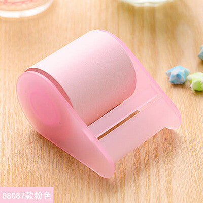 1 x fluorescent paper sticker memo pad sticky notes post it  kawaii stationery material escolar school supplies - Blobimports.com