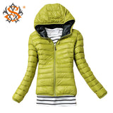 New Fashion Casual Windbreaker Winter Women's Jacket