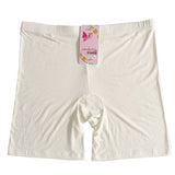 LG009 Comfortable Plus Size  Ladies Bamboo Boxer Shorts Lightweight  Summer Safe Pants Boyshort Underwear for Women 24-40 inches
