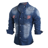 Classic Men's Denim Shirt