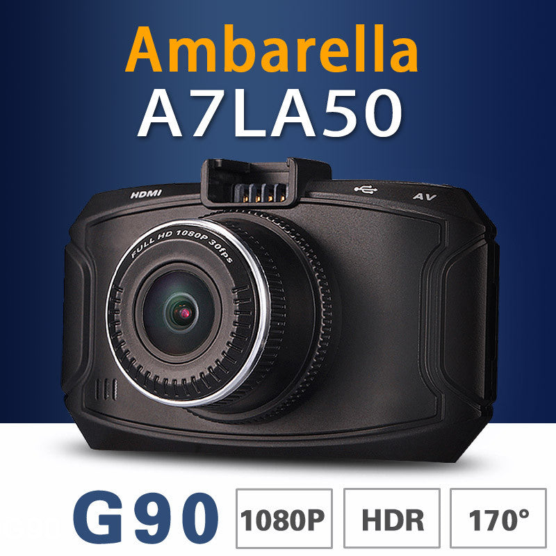 Ambarella A7 Car DVR GS90C/GS90A/G90 Car Camera 1296P HD DVR Recorder Dash Cam GPS Logger Night Vision OV4689 Sensor Camcorder