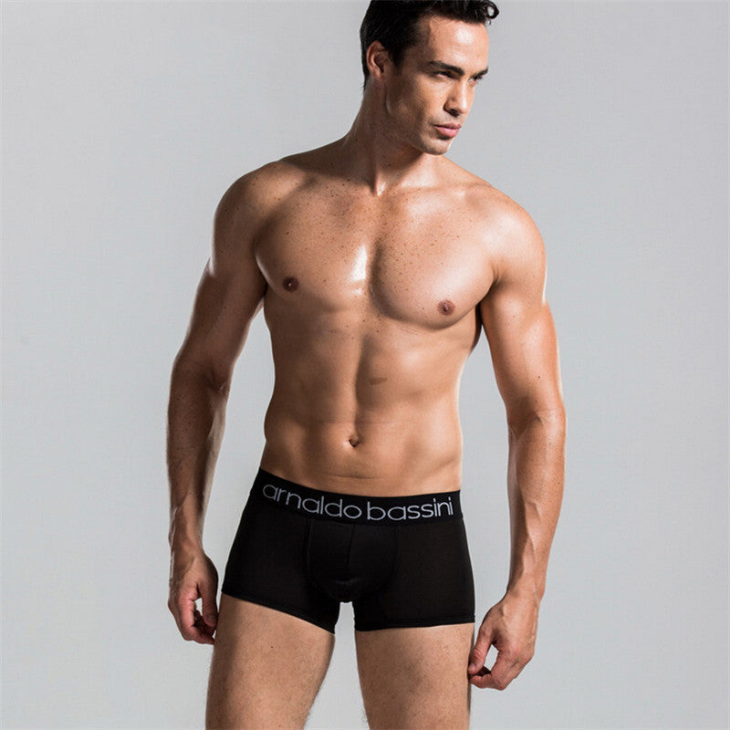 10 Colors Male Panties Sexy Underwear Men's Sports Boxers Top Quality Modal Black Underwear Shorts Men Boxer