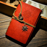 New Diary Book NoteBook Vintage Pirate Note Book Replaceable Traveler Notepad book Leather Cover Blank Notebook Journal Diary