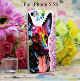 1296W German Shepherd Transparent Hard Case Cover for iphone 6 6s plus 4 4s 5 5s 5c Clear Phone Cases
