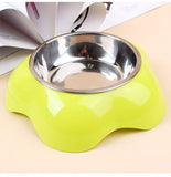 Multifunctional Metal dog cat food bowl cat dish stainless steel dog bowl pet sterile tableware pet feeding watering supplies