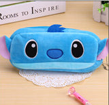 Kawaii Cartoon Animal Large Capacity Plush Pencil Holder Storage Pouch Cosmetic Bag Promotional Gift Stationery