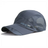 Fashion Mens Summer Outdoor Sport Baseball Hat Running Visor cap Hot Popular Free Shipping