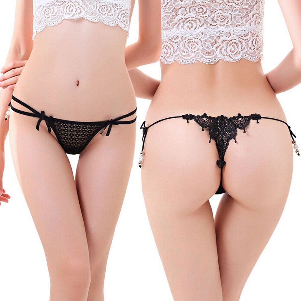 Feitong Fashion 2016 Women Sexy Lace Knickers Panties Lingerie Briefs Underwear Thongs G-string Intimates Briefs Underpants