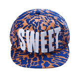 Modern 55CM-61CM Sweet English Letter Milk spots Cotton Snapback Hats Fitted Baseball Cap Hip Hop Caps For Women Aug21
