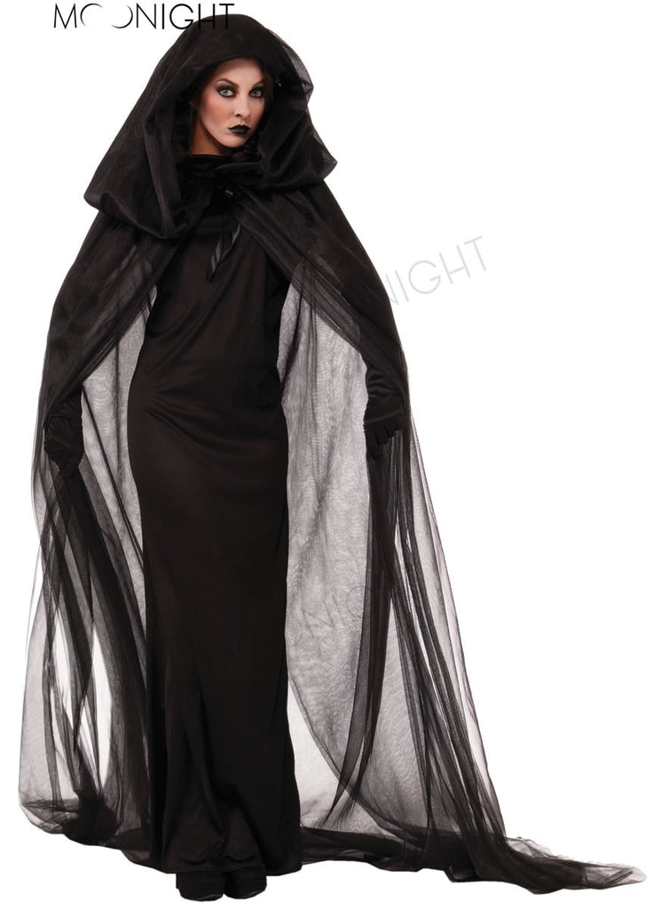 Gothic Witch Halloween Costume Sorceress Costume Adult Witch Fancy Dress Witch Wicked Cosplay