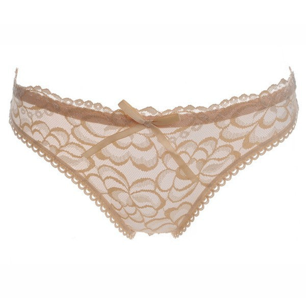 Sexy Women Cute see-through Hollow Out Rose Lace Panties Briefs Knickers Low-waist Underwear 4 Colors