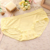 New Bamboo Fiber Underwear Briefs Women Comfortable Sexy Seamless Panties Solid color underwear 9 colors