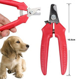 1 Pcs Red Brand New Cheap Pet Animal Dog Cat  Nail Clippers Scissors pet Toe Care Nail Grooming Trimmer Clipper  Stainless steel - Blobimports.com