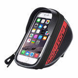"MOREZONE Brand Mountain Road Bike Bag 1.7L Touchscreen Bicycle Bag Cycling Front Top Frame Handlebar Bag For 5.5"" Cellphone"