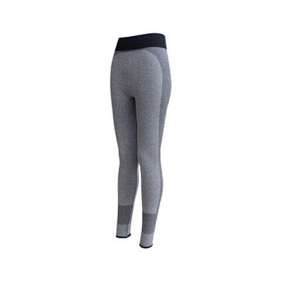 2016 New Fashion Sexy High Waist Stretched Gym Clothes Spandex Quick-Drying Running Womens Sports Leggings Fitness Active Pants