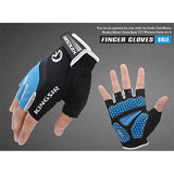 1 Pair Outdoor Sport Gloves Summer Cycling Bike Bicycle Riding Gym Fitness Half Finger Gloves Shockproof Mittens S/M/L/XL/XXL - Blobimports.com