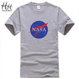 HanHent NASA Fashion Mens T-shirt New Summer style Printed Cotton Men t shirt Space Casual Fitness Clothing Tops Tees TH0376