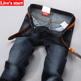 New 2016 famous brand men jeans  Summer thin stretch slim Metrosexual youth jeans  man trousers pants  jeans for men Y320