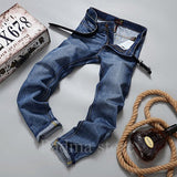 2016 men fashion straight men Jeans classic denim  brand jeans  fall spring  jeans cotton Slim Jeans