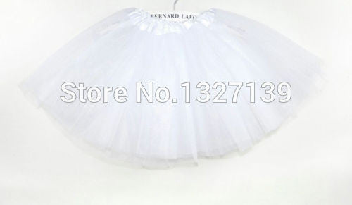 Fashion Women Girl Tulle Tutu Mini Organza 3 layere Party Skirt underskirt