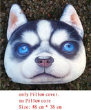 Cute Cartoon Dog Cat pillow case,decorative pillowcases and Washable Waist Pillow cover,SKU 1408S2A