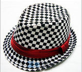 25 Styles Baby Kids Children's Fedora Hats Chic Jazz Photography Cotton Cap 2-6Y