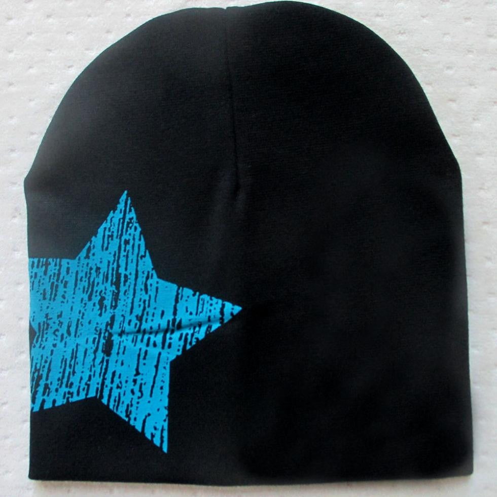 Hot Baby Kid Toddler Cute Stars Printed Hat Soft Warm Cotton Girl Boy Beanie Cap