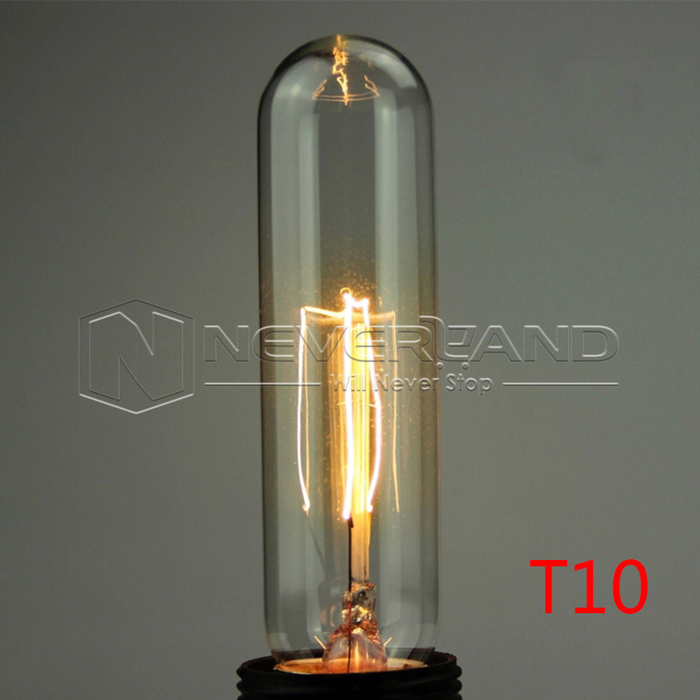 40W 220V Antique Vintage Retro Edison Bulbs E27 Spiral Incandescent Light ST64 A19 G80 LED Edison Lamp For Pendant Lamp Lighting