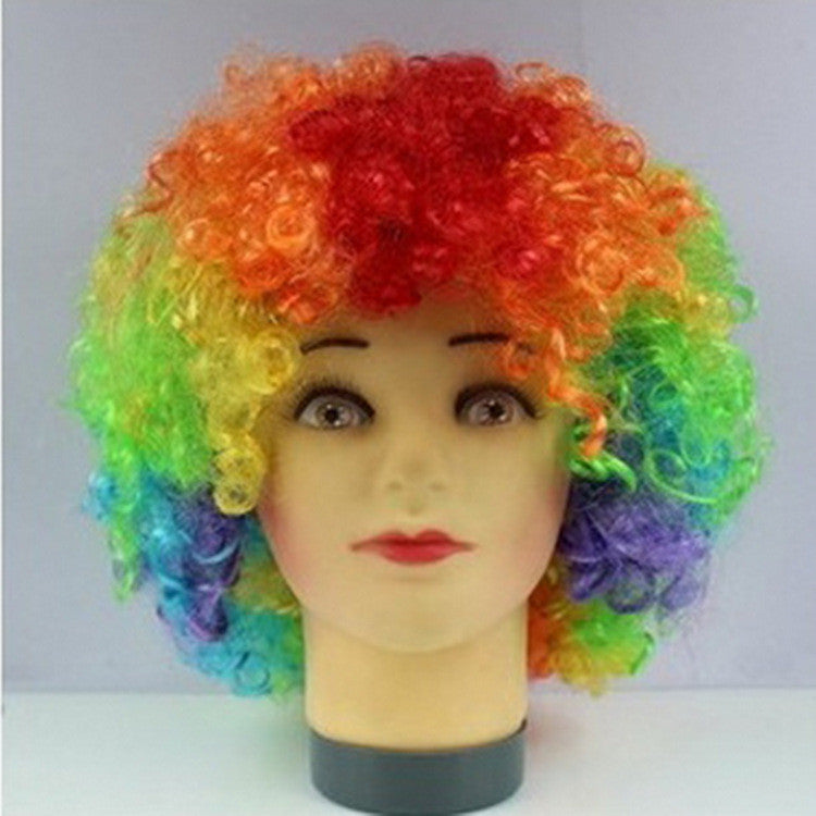 Explosion head  party supplies fans wig funny Halloween costume party Event & Party Supplies