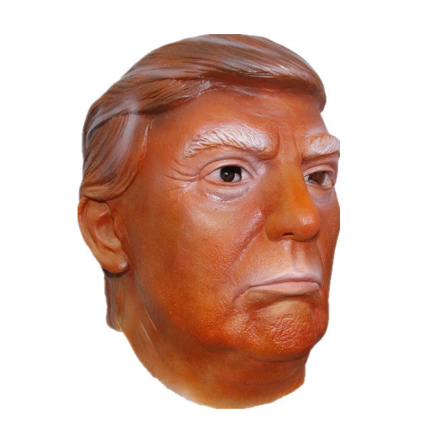 X-MERRY Cheap Funny Mask Props Donald Trump Overhead Latex Masks For Halloween 2016 Free Shipping!!!