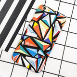 New Moon Space Surface Map Marble Capa Coque Slim Matte Hard Plastic Phone Cases Cover For iPhone 5 5G 5S SE 6 6G 6S 6Plus 5.5