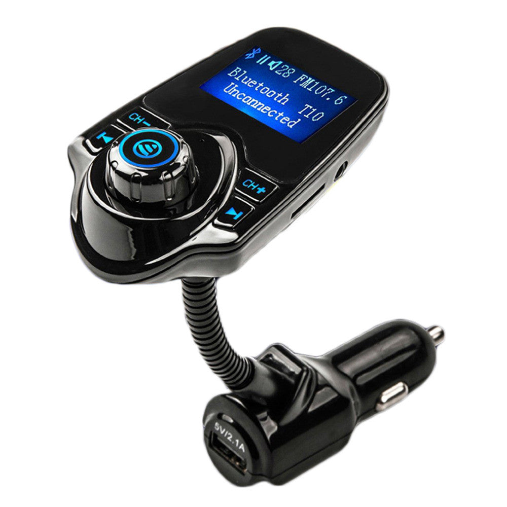 FM Transmitter Bluetooth Handsfree Car Kit MP3 Music Player Radio Adapter with Remote Control For iPhone /Samsung LG Smartphone