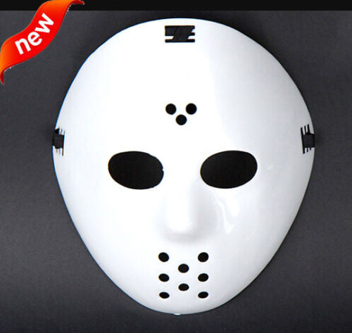 1pcs New Jason vs Friday The 13th Prop Horror Hockey Halloween Costume Cosplay Mask masquerade mask party boy man (adult size)