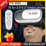 Google cardboard Virtual Reality Glasses + Smart  Bluetooth Wireless Mouse / Remote Control Gamepad