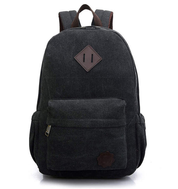 2016 Vintage Men Canvas Backpack Fashion School Bag Casual Outdoor Travel Rucksack Shoulder Bags Laptop bolsas mochila X1054C