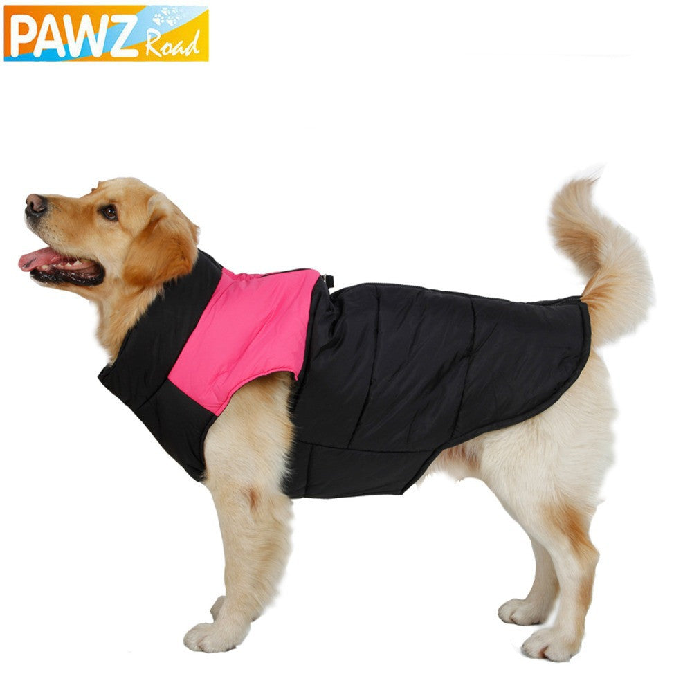 Free Shipping Dog Clothes Dog Winter Clothing Large Dog Vest Warm Apparel Pet Clothes High Quality Clothing For Dog Pet Supplies